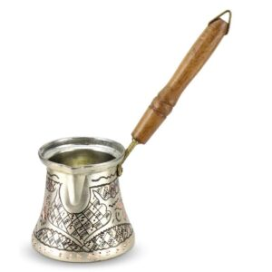Turkish Copper Coffee Pot Handcrafted - Nazik