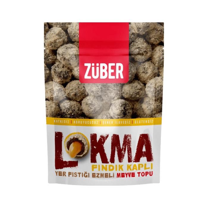 Turkish Lokma (Hazelnut Covered, Peanut Butter Fruit Ball) - Züber
