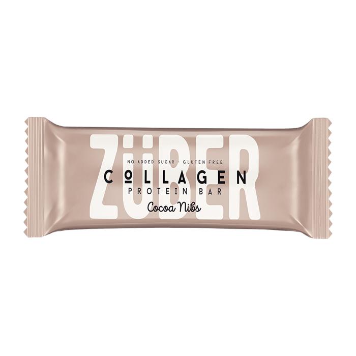Turkish Collagen Bar with Cacao Bean - Zuber