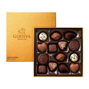 Turkish Golden Praline Chocolate Box - Godiva
