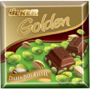 Turkish Milk Chocolate with Golden Pistachio - ÜLKER