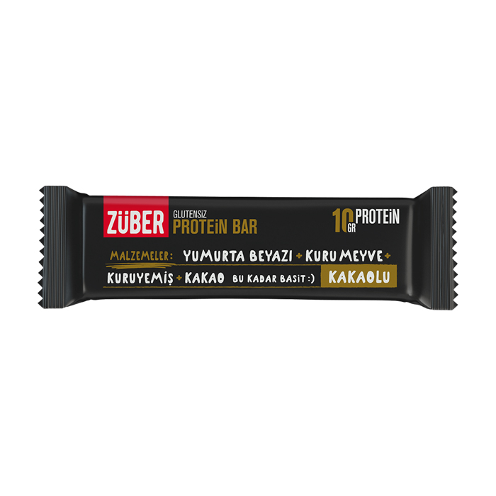 Turkish Cocoa Protein Bar - Züber