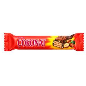 Turkish Coconut Wafer with Hazelnut - Ulker