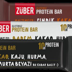 Turkish Protein Bar Triple Trial Package - Züber