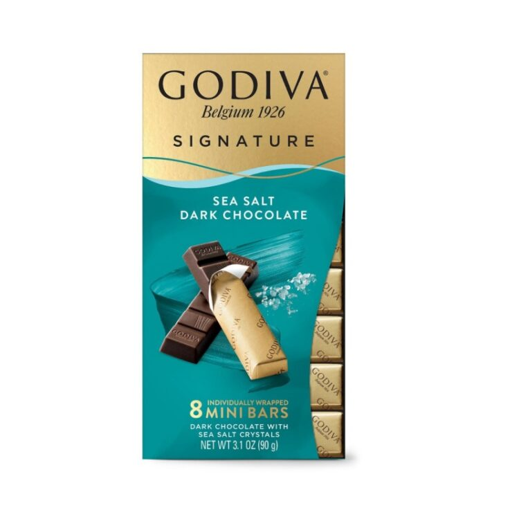 Turkish Dark Chocolate with Sea Salt Crystals - Godiva