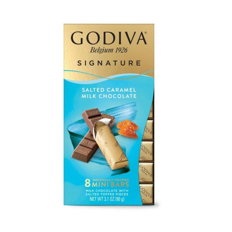 Turkish Chocolate with Milk Salted Caramel - Godiva