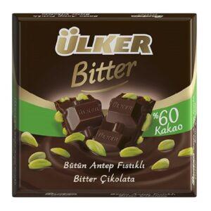 Turkish Dark Chocolate with Antep Pistachio - ÜLKER