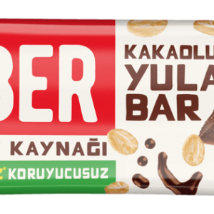 Turkish Natural Bar with Cacao and Oat - Zuber