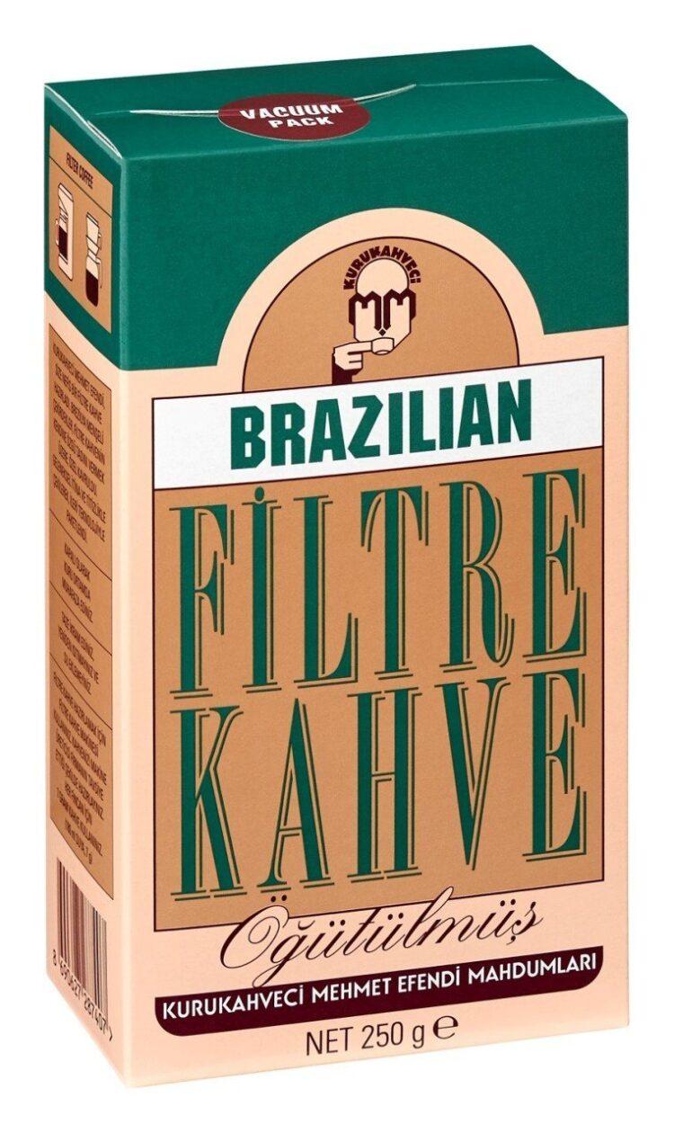 KuruKahveci Mehmet Efendi Roasted&Ground Brazilian Filter Coffee