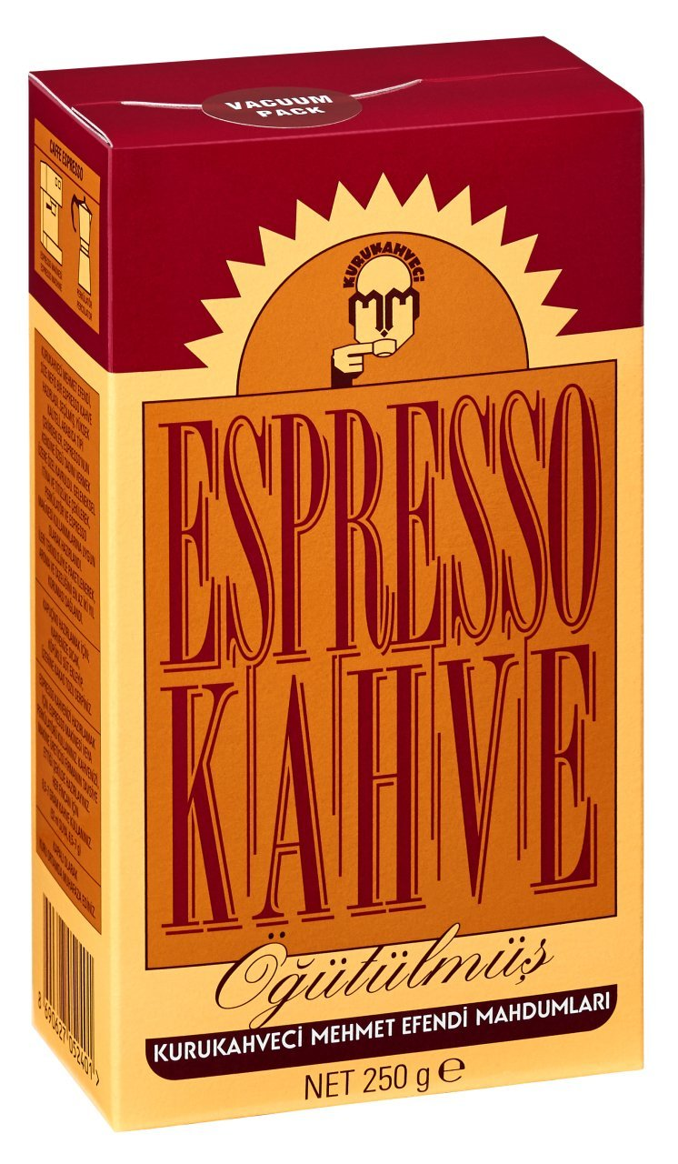 KuruKahveci Mehmet Efendi Roasted&Ground Espresso Coffee