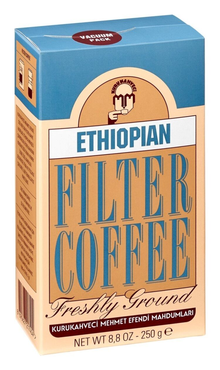 KuruKahveci Mehmet Efendi Freshly Ground Ethiopian Filter Coffee