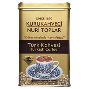 Kurukahveci Nuri Toplar Turkish Coffee Roasted in Wood Fire