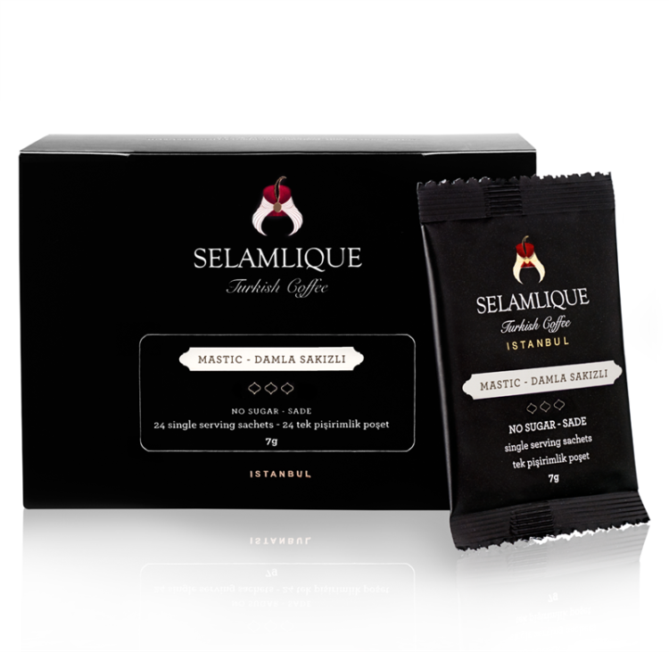 Selamlique Mastic Turkish Coffee Sachets