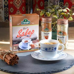 Turkish Salep Powder (Milky Drink) Arifoğlu