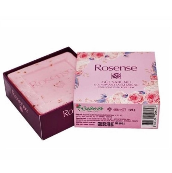 Rosense Turkish Natural Care Soap with Rose Water