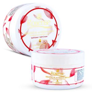 Rosense Nourishing Hand&Body Rose Cream-Soft (%100 Natural)