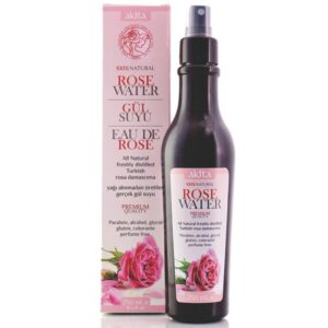 Akita Natural Turkish Rose Water Spray (contains Rose Oil)