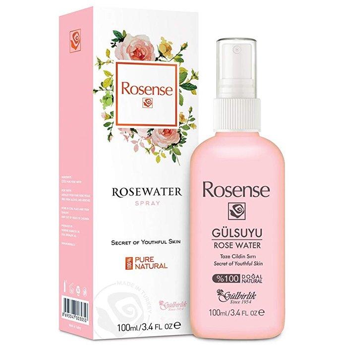 Rosense Natural Traditional Turkish Rose Water Essence-Spray