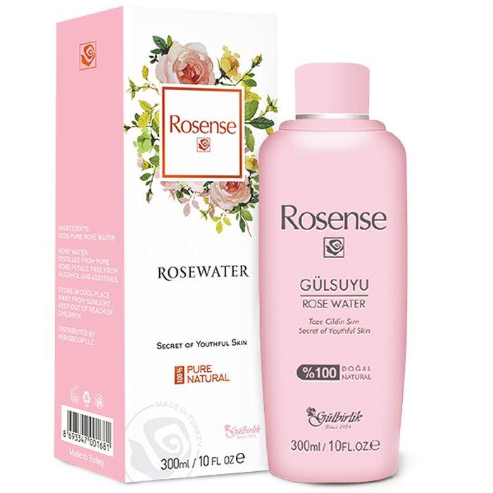 Rosense Natural Traditional Turkish Rose Water Essence