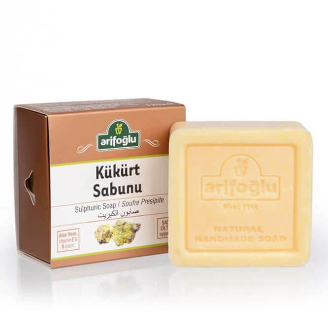 Turkish Sulphuric Natural Soap - Arifoğlu