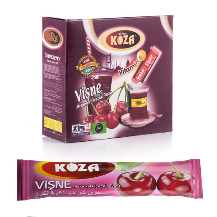 Turkish Sour Cherry Flavored Powder Single-Use Drink (50pcs)
