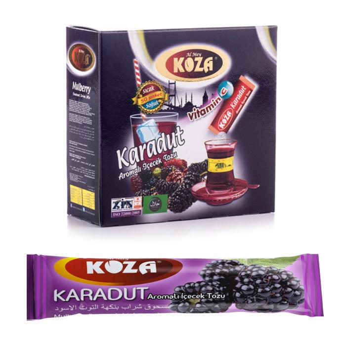 Turkish Black Mulberry Flavored Powder Single-Use Drink (50pcs)