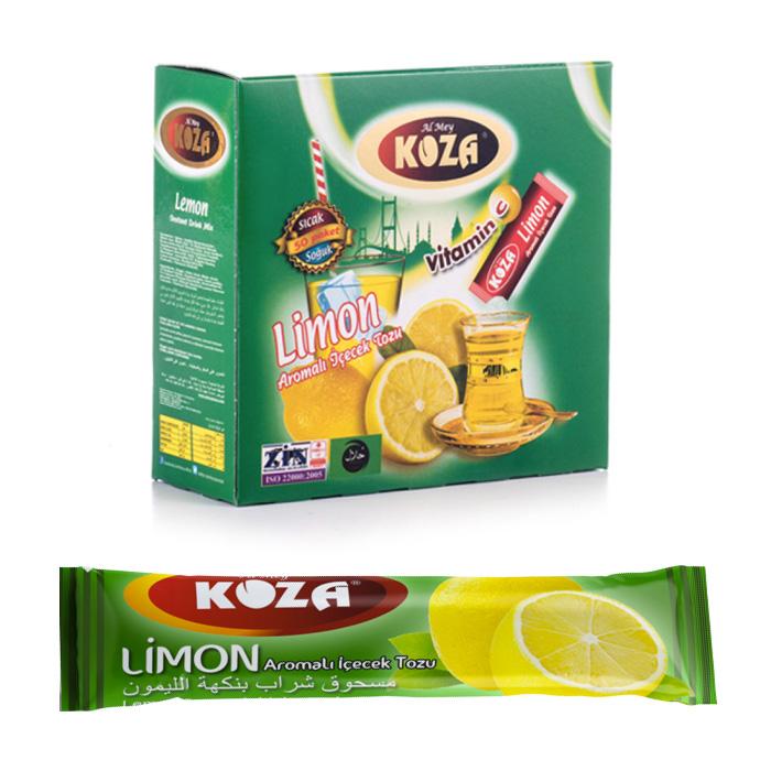 Turkish Lemon Flavored Powder Single-Use Drink (50pcs)