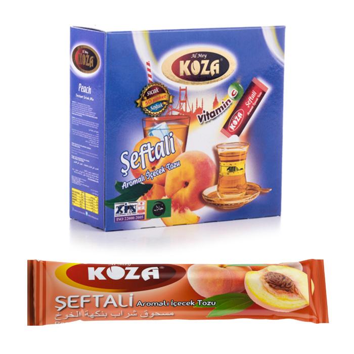 Turkish Peach Flavored Powder Single-Use Drink (50pcs)