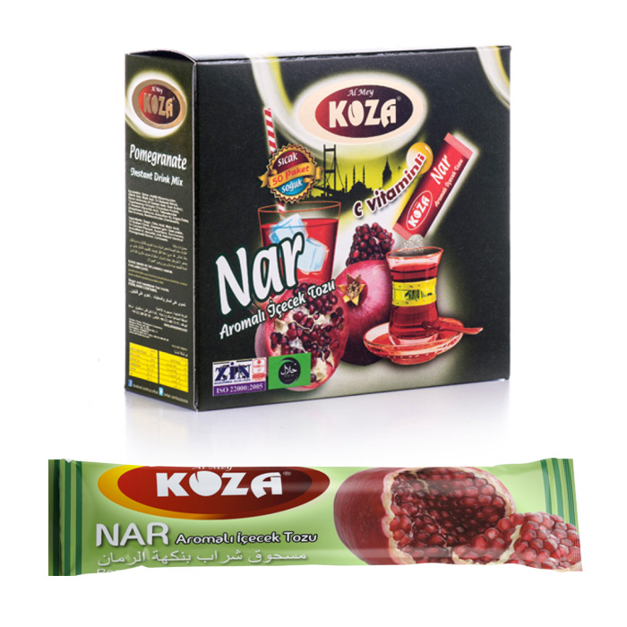 Turkish Pomegranate Flavored Powder Single-Use Drink (50pcs)