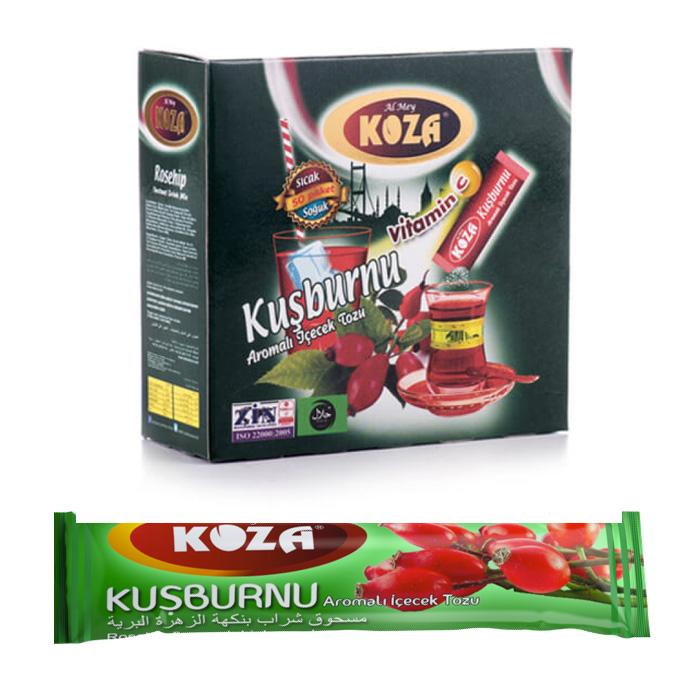 Turkish Rosehip Flavored Powder Single-Use Drink (50pcs)