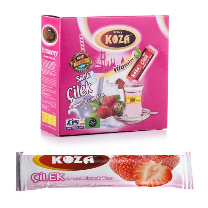 Turkish Strawberry Flavored Powder Single-Use Drink (50pcs)