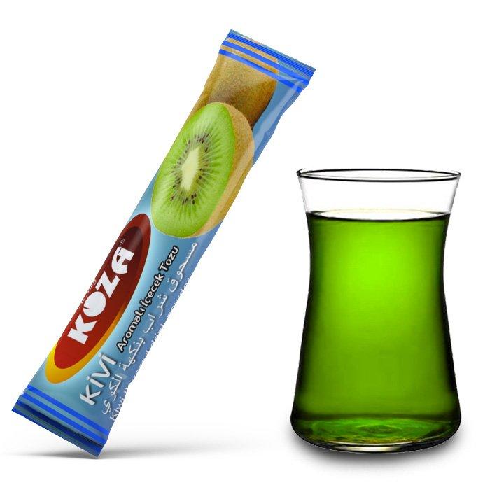 Turkish Kiwi Flavored Powder Single-Use Drink (50pcs)