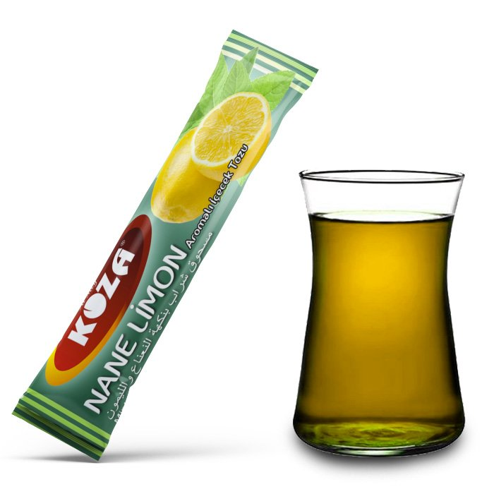 Turkish Mint and Lemon Flavored Powder Single-Use Drink (50pcs)