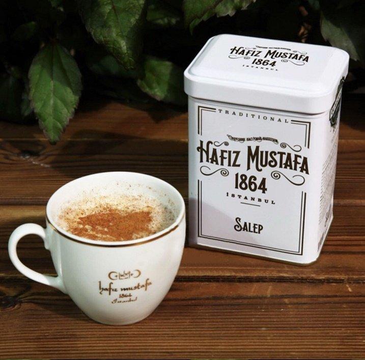 Turkish Salep Powder (Milky Drink) Hafız Mustafa