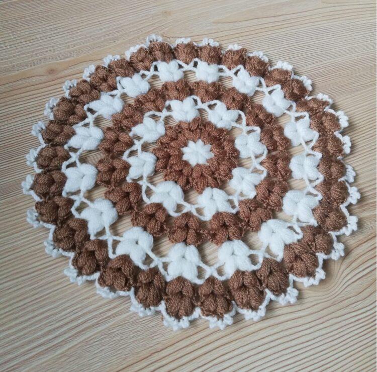 Turkish Handmade Bath Knitting 100% Cotton-Face