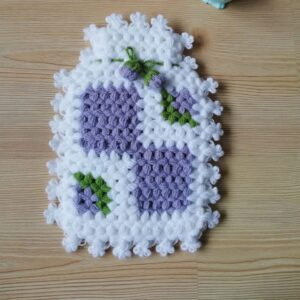 Turkish Handmade Bath Knitting 100% Cotton-Glove