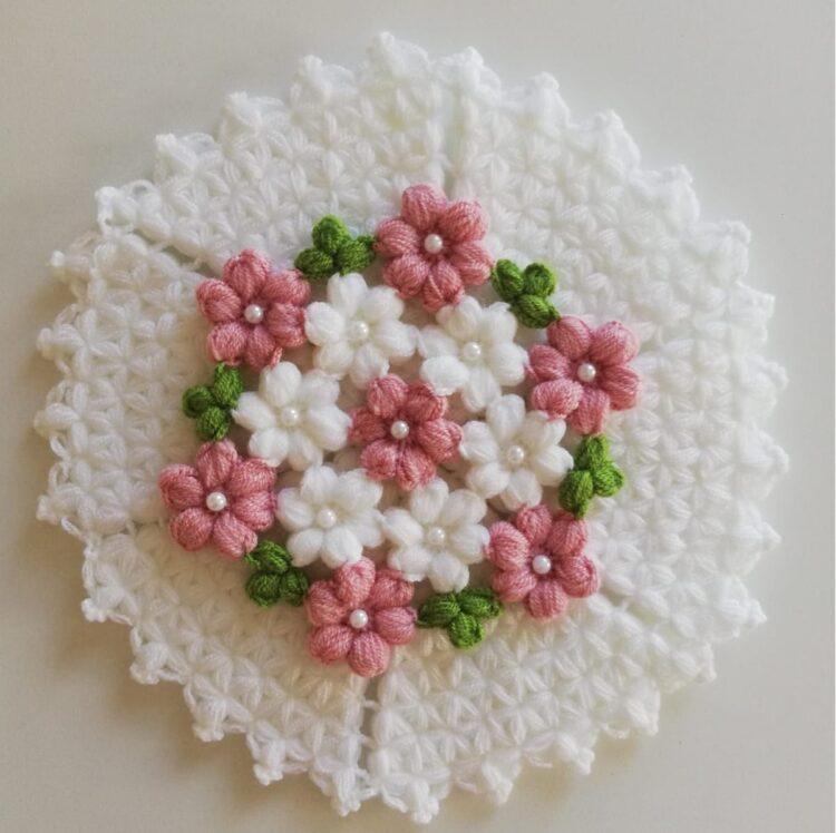 Turkish Handmade Bath Knitting 100% Cotton-Beyza