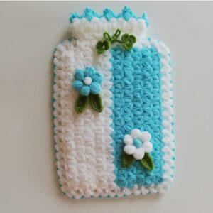 Turkish Handmade Bath Knitting 100% Cotton-Pocket