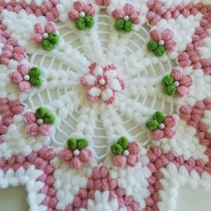 Turkish Handmade Bath Knitting 100% Cotton-Ceyda