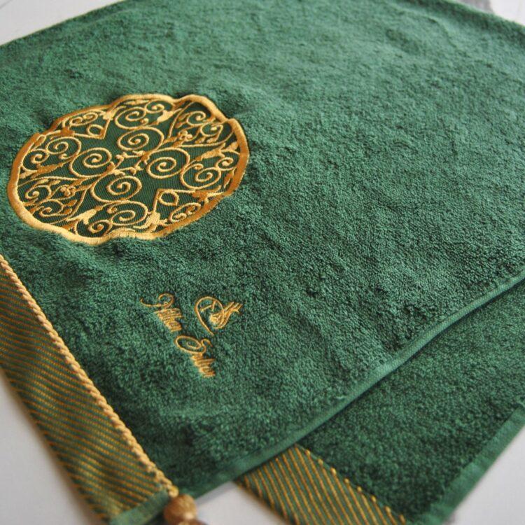 Nilhan Sultan Ottoman Turkish Towel (Green)