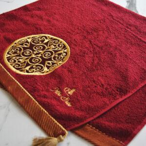 Nilhan Sultan Ottoman Turkish Towel (Red)