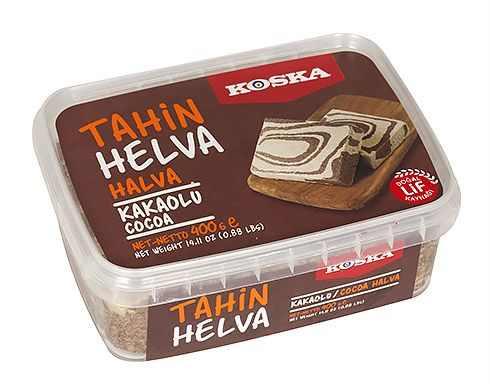 Turkish Cocoa-flavored Halva-Candy