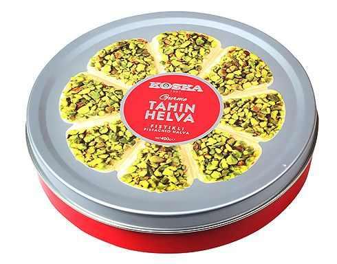 Turkish Gourmet Halva with Double Pistachio
