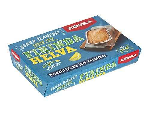 Turkish Halva in the Oven (Diabetic Sugar-Free Halva)