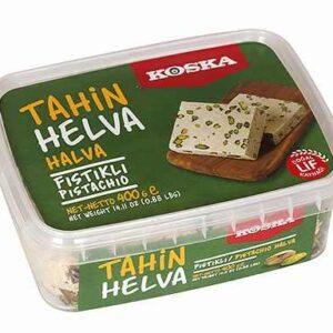 Turkish Halva with Pistachio