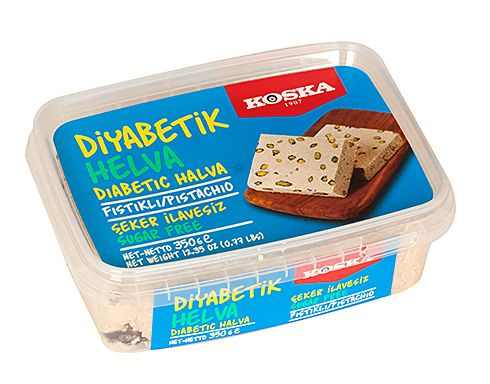 Turkish Halva with Pistachio (Diabetic Sugar-Free)