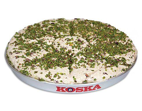 Turkish Tray Halva with Double Pistachio