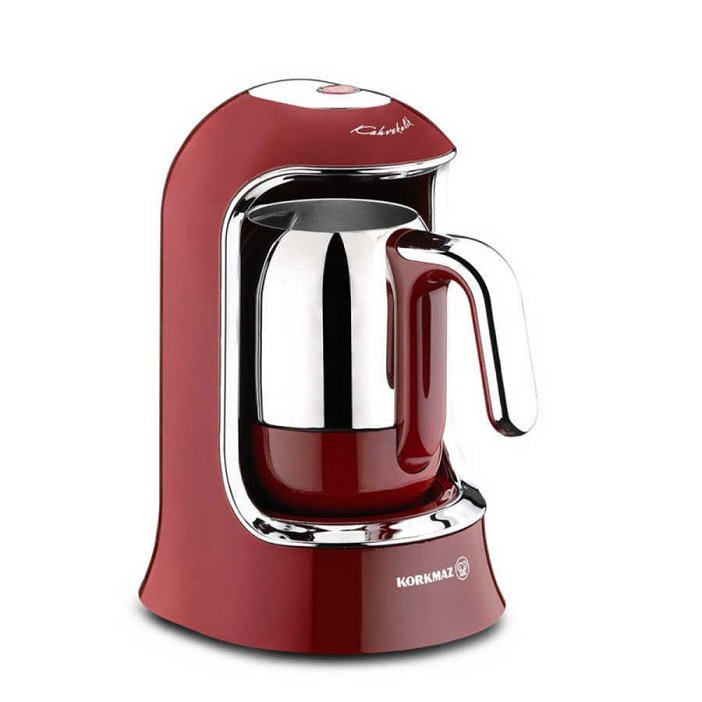 Turkish Electric Coffee Maker (Red)