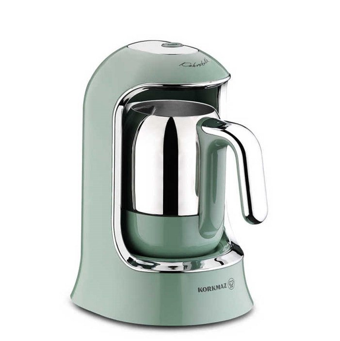 Turkish Electric Coffee Maker (Turquoise)