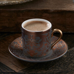 Turkish Coffee Cup Porcelain - Charles (Set of 6)